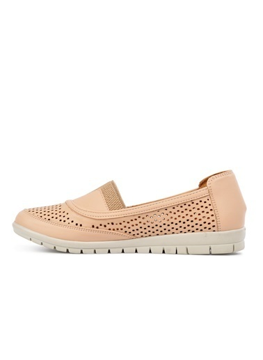 Park Moda Park Moda 406 Nut Kadın Günlük Ayakkabı Ten